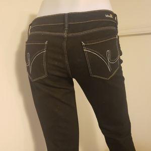 """Kitson black robertson """"only me"""" low jeans sz 29"""